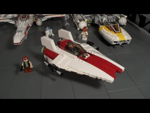 Lego 75003 A-wing Starfighter Review Star Wars