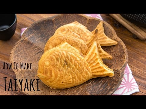 How to Make Taiyaki (Recipe) 鯛焼きの作り方(レシピ)