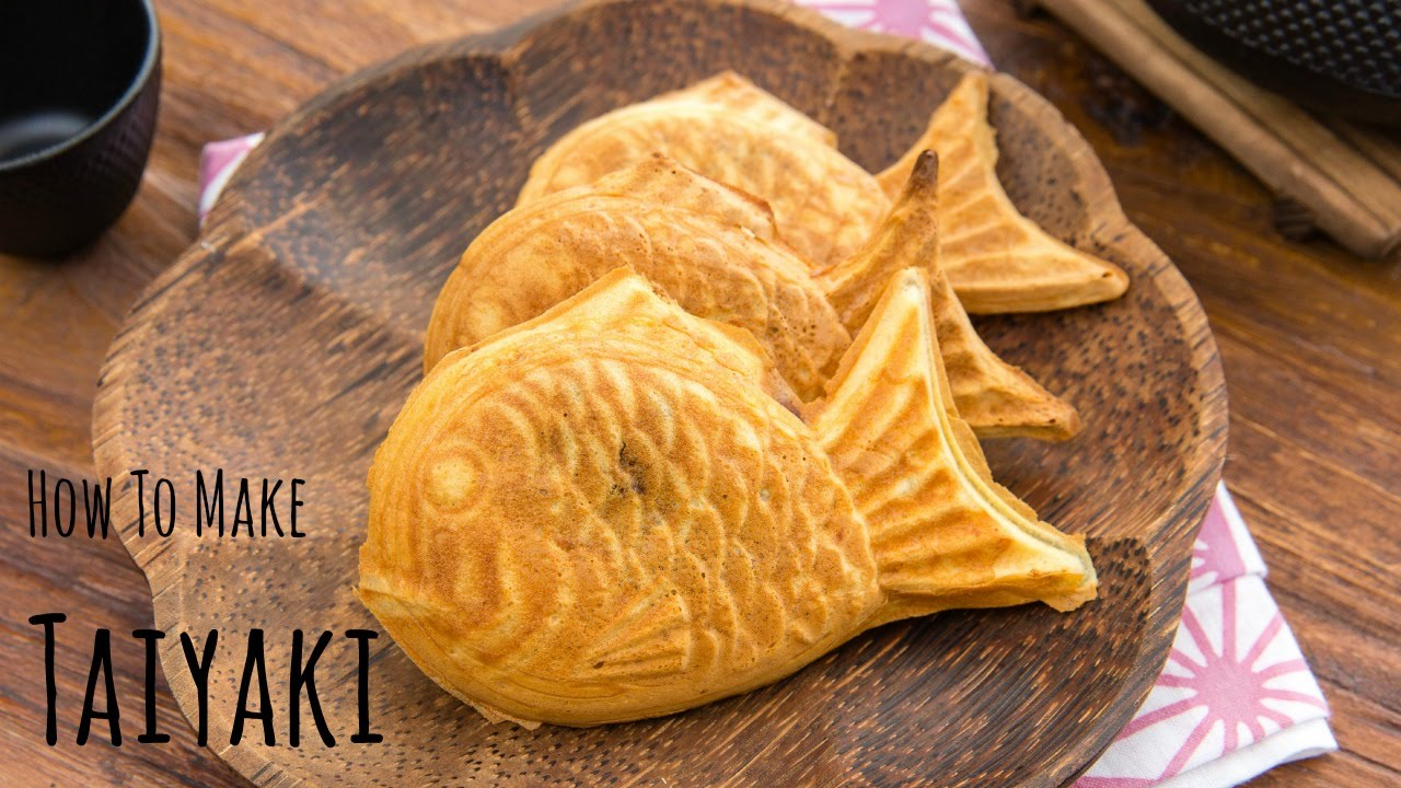 Japan Honey Cake Recipe: How To Make Taiyaki (Recipe) 鯛焼きの作り方(レシピ)