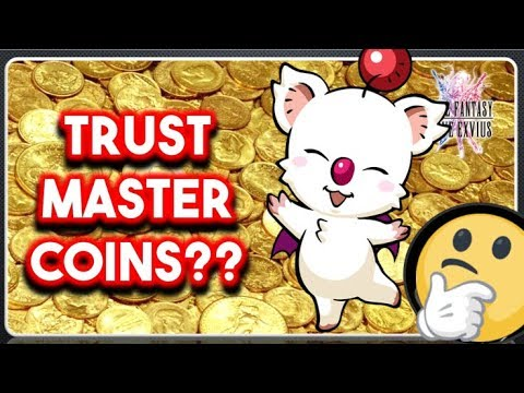 [FFBE] What is Trust Mastered Coins? How  to trade in? and more!