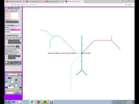 Creating a Metro Map