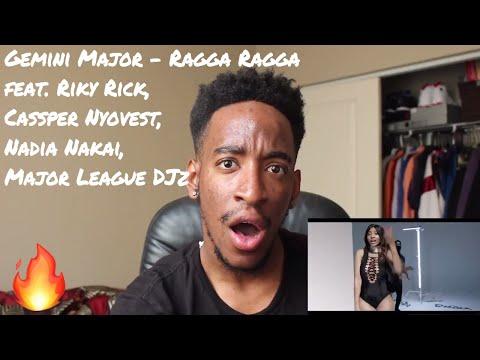 Gemini Major - Ragga Ragga ft. Riky Rick, Cassper Nyovest, Nadia Nakai, Major League DJz (REACTION)
