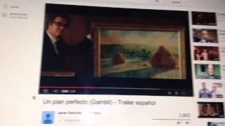 Gambit  Un Plan Perfecto  Tráiler En Español HD 1080P