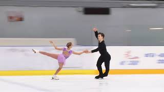 Первенство России в парном катании танц Парное катание KMC Произвольная программа 11 С ВИСЛОБОКО