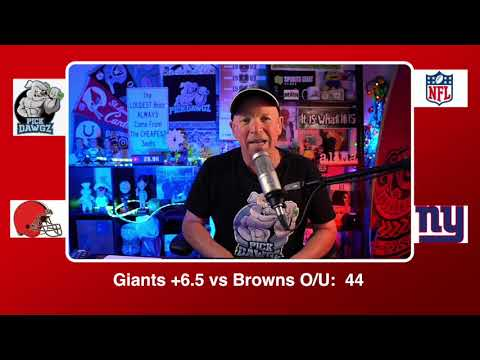 New York Giants vs Cleveland Browns 12/20/20 NFL Pick and Prediction Sunday Week 15 NFL