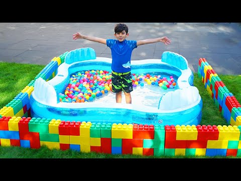 Jason wants to play and swim in a pool