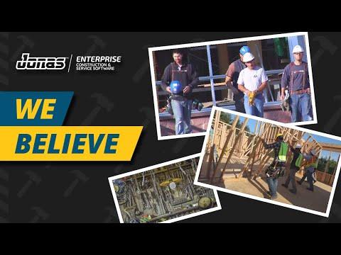 We Believe - Jonas Construction Software