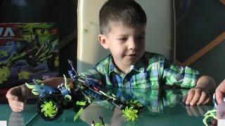 ИГРУШКА ДЛЯ ДЕТЕЙ ЛЕГО НИНДЗЯГО РАСПАКОВЫВАЕМ И ИГРАЕМ LEGO NINJAGO Toys for kids
