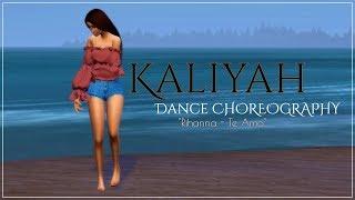 The Sims 4 | Kaliyah Pearson | Dance CHOREOGRAPHY | Rihanna - Te Amo V2 + MOD