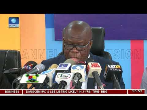 Lagos Ministry Of Justice Annual Report Presentation | Dateline Lagos |