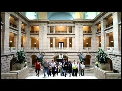 Travel Manitoba - Legislative Building