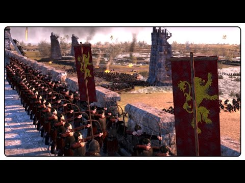 SIEGE OF KINGS LANDING - Seven Kingdoms: Total War Mod Gameplay