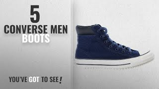 Top 10 Converse Men Boots [ Winter 2018 ]: Converse Mens Chuck Taylor All Star Boot PC Hi Fashion