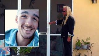 Raw: Dog the Bounty Hunter knocks on Brian Laundrie's door