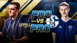 PRO vs PRO | GORILLA vs S04 TIM LATKA | FUT CHAMPIONS TOP 100 PLAYERS | FIFA 17 ULTIMATE TEAM #5