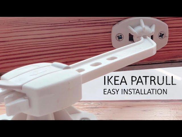 Ikea Patrull Window Catch Youtube