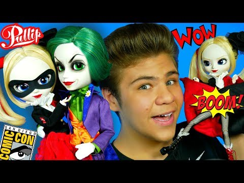 Хищная Харли Квинн!  Обзор на Pullip  Harley Quinn & Joker #SDCC