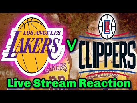 los-angeles-lakers-v-los-angeles-clippers-|-nba-race-to-the-playoffs---live-stream-|-reaction