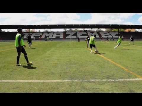 En RDC, des futures stars du foot à la diète forcée