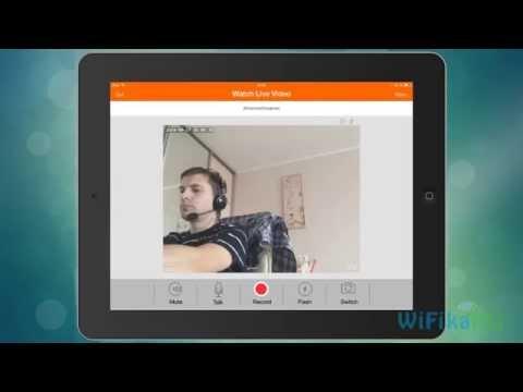 Скрытое видеонаблюдение в квартире через IPhone или IPad CCTV