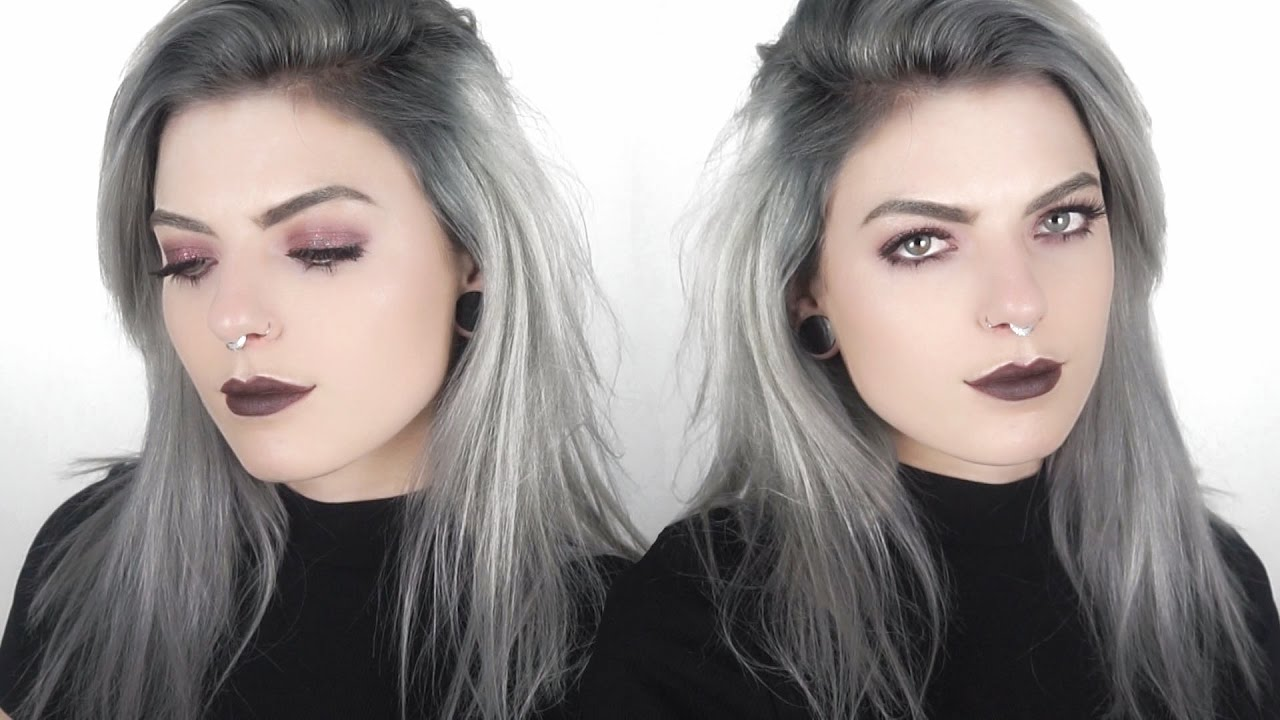 How To Get Silver Hair With Dark Roots Youtube