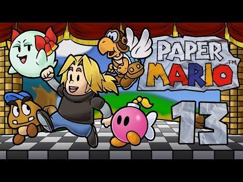 Let's Play Paper Mario [German][#13] - Blooper lauert unter der Stadt!