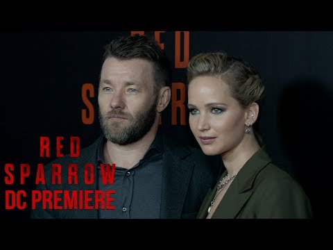 'Red Sparrow' DC Premiere