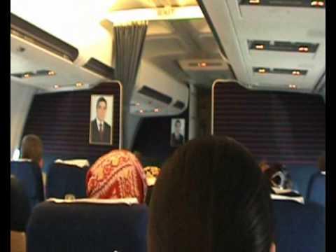 туркменские авиалинии. TURKMENISTAN AIRLINES.wmv