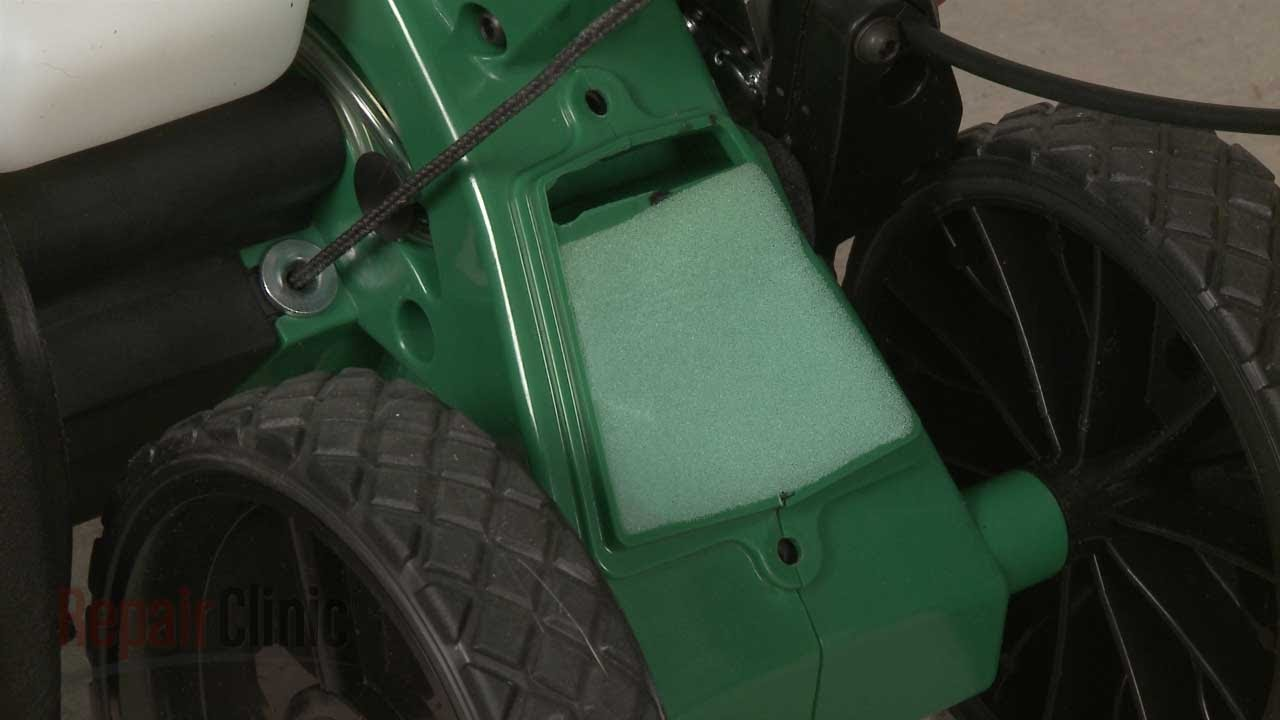 Weed Eater Edger Air Filter Replacement