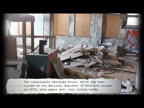 Pines Hotel in Pine Bluff AR (Abandoned)