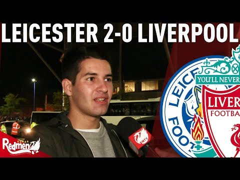 'We Can't Play Like That On Saturday!' | Leicester 2-0 Liverpool | #LFC Fan Cam