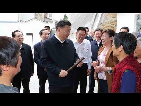 President Xi inspects areas along Yangtze River