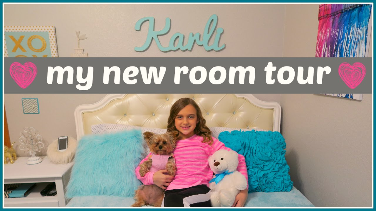 My New Room Tour 2015 Youtube