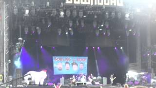 (HD) Bowling for soup - intro + almost live at download festival 2014 donington UK