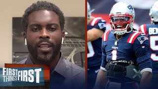 Michael Vick talks Cam's debut with Patriots & Wk 1 win over Dolphins   NFL   FIRST THINGS FIRST