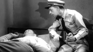 Barney Fife Talks to Otis in His Sleep