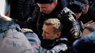 Rus muhalif lider Alexei Navalny Moskova'da tutuklandı