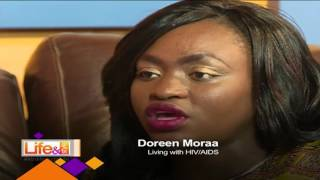 Life and Style: Mary Mwikali with Doreen Moraa who has lived with HIV/AIDS all her life