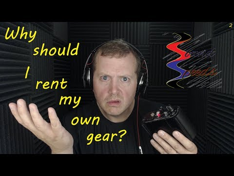 Why Should I Rent My Own Gear? Sound Speeds!