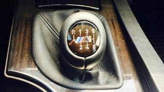 """BMW E60 """"М"""" Рукоять на КПП"""