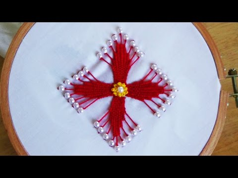 Hand Embroidery:kadai kamal