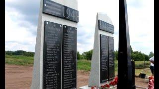 В Хмелевке установили памятник участникам Великой Отечественной войны