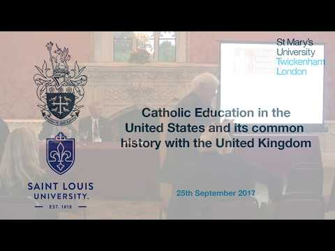 Catholic Education in the United States and its common history with the United Kingdom