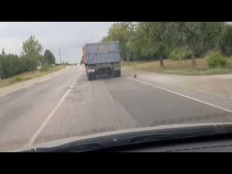 Въезд в Симферополь со стороны Армянска