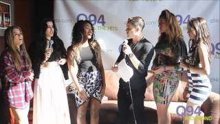 Fifth Harmony Interview with Q94's Jackson
