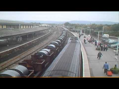 DBS 66088 PASSES GLOUCESTER WITH STEEL COILS 121010.wmv