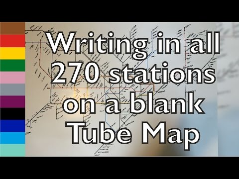 Filling In A Blank Tube Map