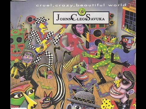 Johnny Clegg & Savuka - Cruel Crazy Beautiful World 12'' Mix