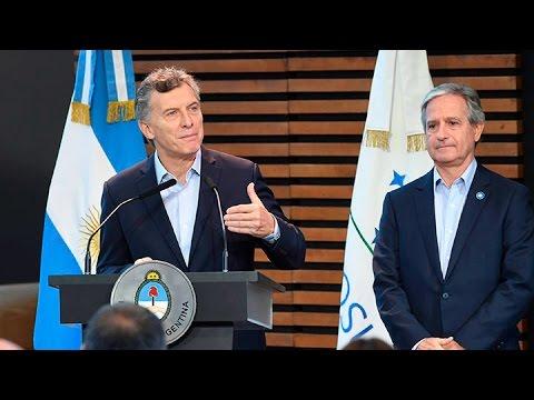 El presidente Mauricio Macri encabezó el relanzamiento del INAP