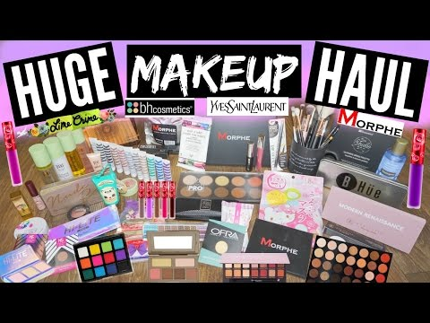PROBABLY THE BIGGEST MAKEUP HAUL ON YOUTUBE